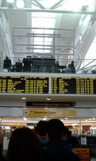 6月5日JFK空港!