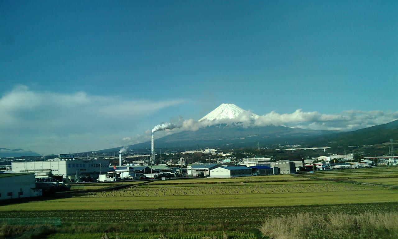 12月12日富士山!