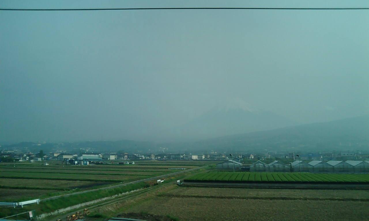 5月6日の富士山!