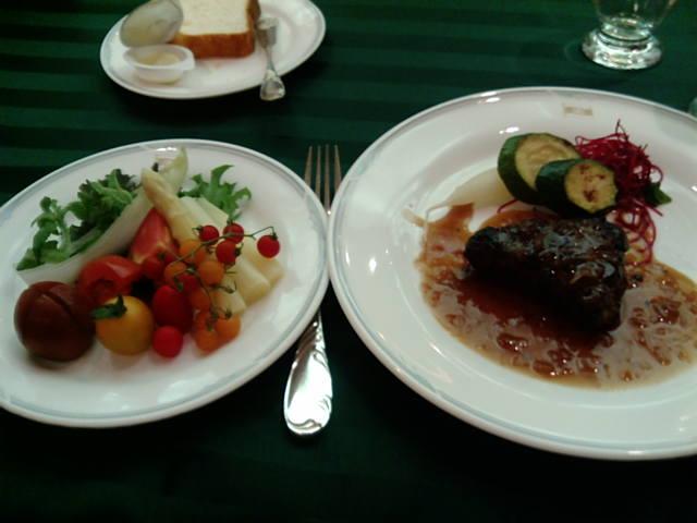 ディナー!
