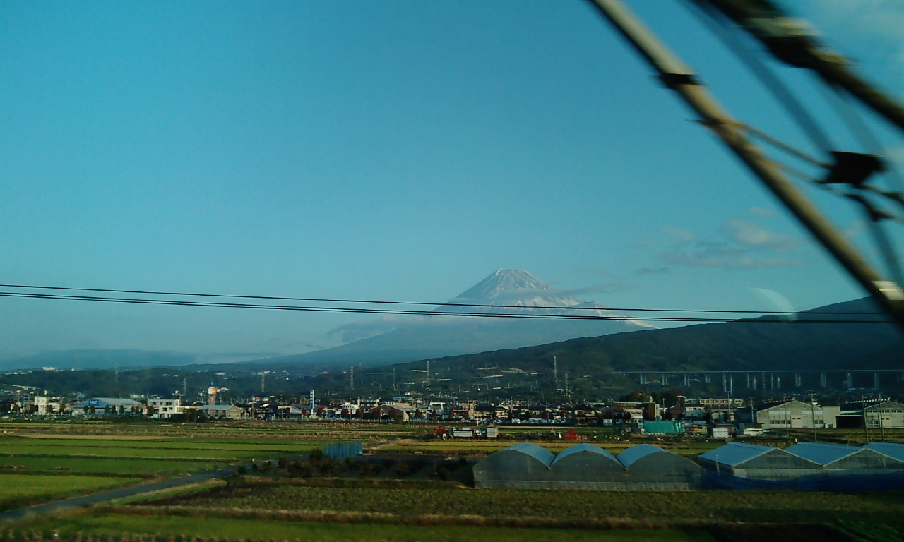 11月18日!富士山!